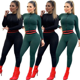 Discount black yoga pants outfit - womens tracksuit 2 piece set outfits long sleeve sportswear hoodie legging jacket pants outerwear tights sports set very