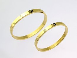 $enCountryForm.capitalKeyWord Australia - 2019 high quality silver gold rose gold cheap Bangle leather bracelet lovers gifts with box and dastbag