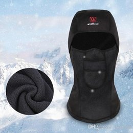 WHEEL UP Winter Skiing Cycling Face Mask MTB Road Windproof waterproof Warm Mask Bicycle Hat Headwear on Sale