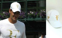 Free Cooling Fan Australia - Best selling Wholesale Men Summer Cool Caps Roger Federer RF Tennis Fans Caps Cool Summer Baseball Tennis Sport Hat Men Cotton Sports Cap
