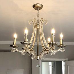 $enCountryForm.capitalKeyWord Australia - chandelier for living room hanging modern pendant ceiling lamps scandinavian Nordic crystal Silver led suspension luminaire room
