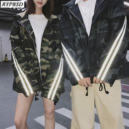 $enCountryForm.capitalKeyWord Australia - New 2019 Autumn Reflective Men Jacket Striped Hooded Long Sleeve Fashion High Quality Hip Hop Zipper Camouflage Jacket Men