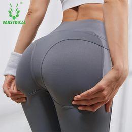 $enCountryForm.capitalKeyWord Australia - Vansydical 2019 Women's Gym Yoga Pants High Waist Sexy Hips Push Up Running Tights Breathable Dance Workout Sports Leggings