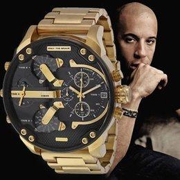 2019 mens esporte militar montres mens novo original reloj grande mostrador diesel relógios dz relógio dz7331 DZ7312 DZ7315 DZ7333 DZ7311 venda por atacado
