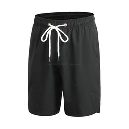 United Hot Men Thin Large Size Solid Color Elastic Lacing Wide Leg Shorts Casual Breathable Quick-drying Shorts Comfortable And Easy To Wear Men's Clothing