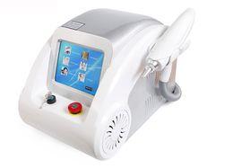 Vente en gros Laser écran détatouage tactile Q commutée e machine de beauté laser Yag soins de la peau noire poupée face enlèvement Scar acné DHL Livraison gratuite