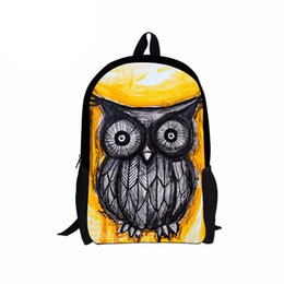 backpack baby boy UK - School Bag For Boy Orthopedic Cute Owl Backpack Female Baby Backpack Kids Toddler School Bags for Girl Children Kindergarten Bag