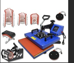 $enCountryForm.capitalKeyWord Australia - 33*45CM 8 in 1 New design Heat Press Printer Sublimation Machine Heat Press Machine for T-shirts Plates Cap Mug Phone Covers