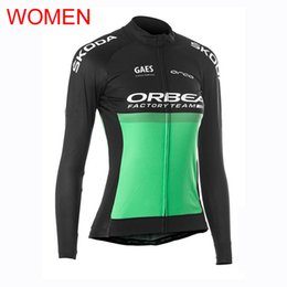 $enCountryForm.capitalKeyWord Australia - New ORBEA Team Cycling Jersey Women 2019 Long Sleeve Racing Tops MTB bicycle Shirt Road Bike Clothes quick dry Outdoor Sports Uniform Y0815