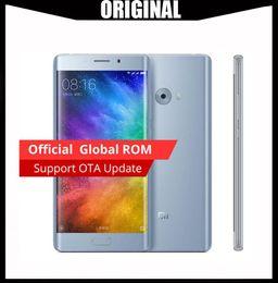Google Touch Screen Australia - Wholesale Original Xiaomi Mi Note 2 64-Bit Quad Core 4G LTE Touch ID 22MP Camera RAM 6GB ROM 128GB 5.7 inch Curved Screen Smartphone