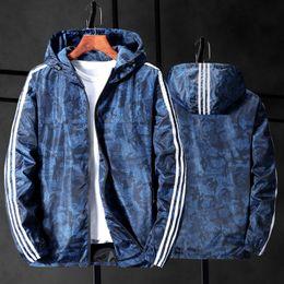 Wholesale camo parka for sale – winter Plus XL XL XL XL New Camouflage Jacket Men Plus Size Camo Hooded Windbreaker Jackets Canvas Jacket Parka