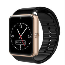 Smart Watch Phone Android Sim Australia - GT08 Smart Watch Phone with Camera Bluetooth Smartwatches For Android Wristband SIM Card With Retail Package