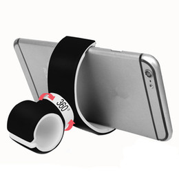 Сумка для велосипеда 360 градусов Универсальный Air Vent Mount Велосипед Автомобильный держатель для мобильного телефона Велосипед Руль Gps Телефон Сумки для велосипедов
