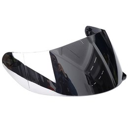 motorcycle flip up helmet Australia - Windproof Replacement Universal Lens Helmet Visor Detachable UV Protected Shield Parts Front Flip Up Retro Washable Motorcycle