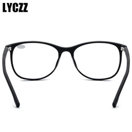 classic eyewear Australia - Wholesale-LYCZZ Classic Optical Reading Glasses Men Retro TR90 Full Eyeglasses Frame Anti Fatigue Eyewear For elder ultralight