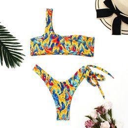 women underwear lace underwear set Print push up Bikini Bathingsuit Tankini women  lingerie Beach high waisted brassiere  78 7c2477518