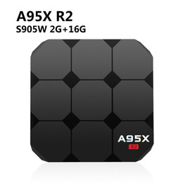 Discount m8s iptv box - Hot Sell A95x R2 Android TV Box 2G 16G android 7.1 Amlogic S905W WIFI HDMI TVBOX Smart IPTV Box MXQ Pro M8S