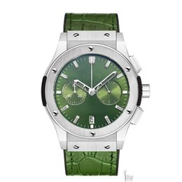 $enCountryForm.capitalKeyWord Australia - Men's Automatic Fashion Watches Stainless Steel Leather Belt Top Large Size Mechanical Motion Watch Large Needle Timing and Running Seconds