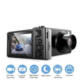 "mini video cams visions 2019 - 2"" Full HD Car Camera Car DVR Mini Dash Cam Camcorder 1080P Dvrs Night Vision Video Recorder Autoregister Dash Cam"