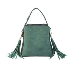 $enCountryForm.capitalKeyWord UK - Marfuny Brand Tassel Shoulder Bags Handbags Women Scrub Daily Bag For Girls Schoolbag Female Crossbody Bags New Bucket Sac SH190710