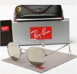 $enCountryForm.capitalKeyWord Australia - brand sunglasses 3447 round mens womens sun glasses prescription 2019 block sunrays uv400 protection glass
