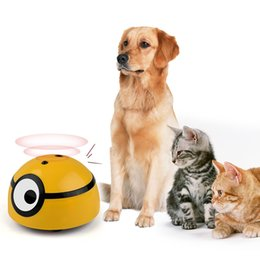 Wholesale Smart Escape Toys Cats and Dogs Interactive Chasing Toys Children's Pets Available Infrared Sensing Pet Supplies