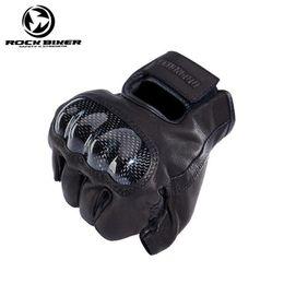 $enCountryForm.capitalKeyWord Australia - Summer Rockbiker Support Motorcycle Bicycle Carbon Fiber Leather Retro Motorcycle Gloves