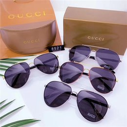 $enCountryForm.capitalKeyWord NZ - High quality luxury pollyons high definition lens and metal frames lead the fashion trend of sunglasses. The four-color matching box is desi