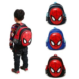 kids books characters Australia - 3D Waterproof Kids School Bag Backpack For Boys Child Spiderman Shoulder Book Bags Satchel Knapsack 3-6 Years Old Spider-Man: Far From Home