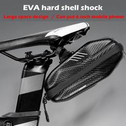 $enCountryForm.capitalKeyWord NZ - New Waterproof EVA hard shell 0.8L Bike Bicycle Saddle Bag Road MTB Rear Tail Seat Shockproof Cycling Bag Pocket Accessories #24687