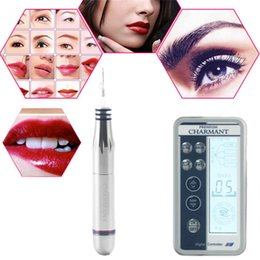 Make Permanent Tattoo Pen Australia - Digital permanent makeup machine kit for eyebrow tattoo lip liner microblading pens cosmetic make up machine beauty care