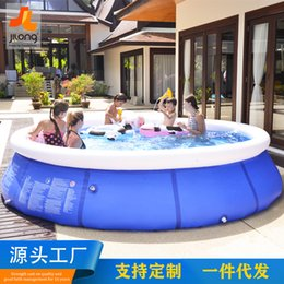 Wholesale Round bracket swimming pool piscina inflavel adulto Outdoor swimming pool Large children's piscina grande
