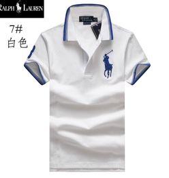 Polo Men Ralph Australia - ralph men lauren Designer polo lapel luxury high quality Embroidery polos shirts Brand Business Cotton T shirt summer trend Comfortable 5555