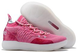 on sale 409fe fd02b 2019 New KD 11 EP White Orange Foam Pink Paranoid ICE Basketball Shoes  Original Kevin Durant XI KD11 Mens Trainers Sneakers Size 7-12 05