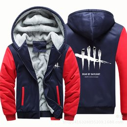 $enCountryForm.capitalKeyWord NZ - Winter Thick Designer Mens Hoodies Hiphop Cardigan Long Sleeve Hooded Mens Sweatshirts Fashion Male Clothing With Zipper