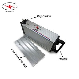 Pack Supplies Australia - China Supply High Quality Rear Rack 24V Li Ion Battery Pack 24V 22Ah Battery use in 7S9P Cells for 700W Electric Bike