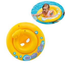 inflatables for pools Australia - Inflatable Swimming Ring Baby Kids Safety Seat Float Raft Chair For Beach Pool