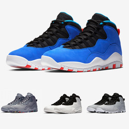 Chinese  With Box 10s Tinker Cement I'm Back Cool Grey Basketball Shoes Mens 10 Sports Sneakers Wholesale Drop Ship manufacturers