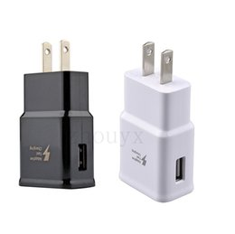 Charger Samsung Quality Australia - High Quality 5V 2A 9V 1.67A US EU Plug QC2.0 For Samsung Galaxy S6 Fast Quick Charge Travel Home Wall Charger