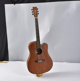Acoustic Guitar Wood Spruce UK - free shipping new 41 inch spruce Nanyang wood corner ballad acoustic guitar six-string steel wire string beginner advanced acoustic guitar