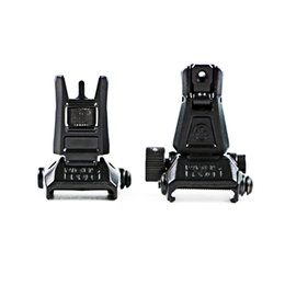 Chinese  Front Rear Folding Sights kits Y Mil hunting toys airsoft tactical sights foldable Iron sight manufacturers