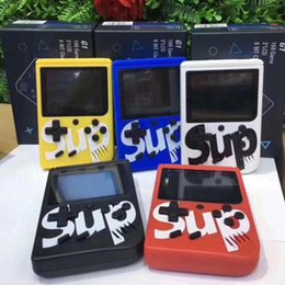 Ship game controller online shopping - Big screen SUP Games Handheld Games Console Shock Controllers Portable Game Players in Game Gift for kids DHL