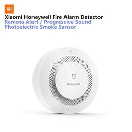 Fire Smoke Detector Alarm Australia - Xiaomi Mijia Honeywell Fire Alarm Detector Audible Visual Smoke Sensor Remote Mihome APP Smart ControlGas Smoke Alarm Detector