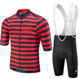 $enCountryForm.capitalKeyWord UK - 9D pad, Morvelo 2019 Summer Cycling Jersey Short Sleeve Set bib shorts MEN MTB Bicycle Clothes Maillot Culotte Clothing