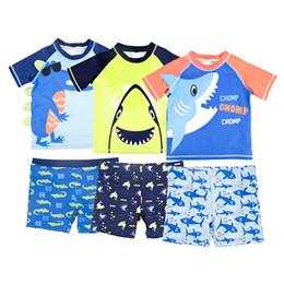 $enCountryForm.capitalKeyWord Australia - Childrens swimsuit,baby beachwear.short-sleeved surfing suits,children's beach suits, split suits.Boys swim suit.quick drying function.