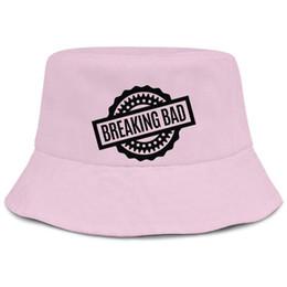 $enCountryForm.capitalKeyWord UK - Breaking bad logos pink men fisherman bucket sun hat design blank personalized fashion original bucket suncap