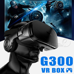 G300 VR BOX Super Bass 3D VR Glasses Box Headset for 4.5-6.2 Inch IOS Android with Package from active shutter 3d glasses manufacturers
