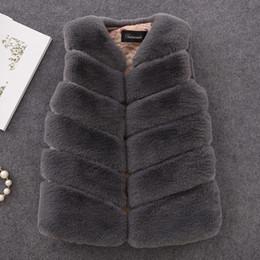 $enCountryForm.capitalKeyWord NZ - 2019 New Winter Fashion Girls Fur Outerwear Thick Warm Faux Fur Vest V-neck Short Fur Colorful Vest For 12m-16y Clothing Vw020