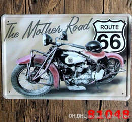 $enCountryForm.capitalKeyWord Australia - Motorcycle Vintage Craft Tin Sign Retro Metal Painting Antique Iron Poster Bar Pub Signs Wall Art Sticker(Mixed designs) 333