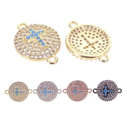 $enCountryForm.capitalKeyWord UK - New Cross charms Black Silver Gold Rose Gold Sideways Religious Cross Charm Pendant diy Woman girl bracelet Jewelry Accessoires